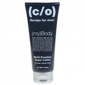 C/O Recipe For Men Super Body Lotion Ķermeņa, roku un kāju mitrinošs krēms 200ml