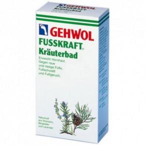 Gehwol Fusskraft Herbal Bath Augu ēteriskās eļļas saturoša sāls pēdu vannošanai 400g