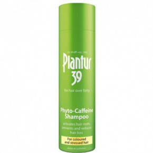 Plantur 39 Caffeine Shampoo Šampūns ar kofeīnu pret matu izkrišanu (krāsotiem matiem) 250ml