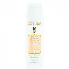AlfaParf Milano Precious Nature Šampūns ar mandeļu eļļu un pistāciju esenciju krāsotiem matiem 250ml