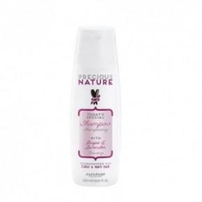 AlfaParf Milano Precious Nature Šampūns ar lavandu un vīnogu serumu cirtainiem matiem 250ml