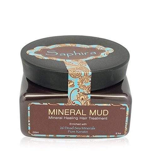 Saphira Mineral Mud Matu maska ar keratīnu 70ml