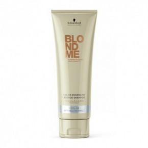 Schwarzkopf BlondMe Cool Ice Color Enhancing Šampūns vēsi blondiem toņiem (augsta ledu) 250ml