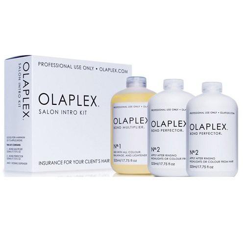 Olaplex Salon intro Kit Matu atjaunojošo līdzekļu komplekts 3x525ml
