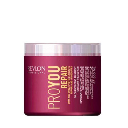 Revlon Professional Pro You Repair Maska bojātiem matiem ar kviešu un sojas proteīniem 500ml