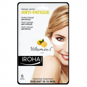 IROHA Eye Pads Antifatigue Vitamin C Maska acu zonai ar C vitamīnu 6vnt