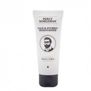 Percy Nobleman Face&Stubble Moisturiser Mitrinošs sejas un bārdas zonas krēms 75ml