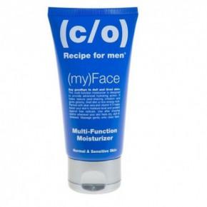 C/O Recipe For Men Multi Function Moisturizer Intensīvi mitrinošs sejas krēms normālai un jutīgai ādai 75ml