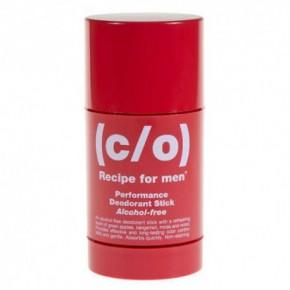 C/O Recipe For Men Perfomance deodorant stick Dezodorants- zīmulis 75ml